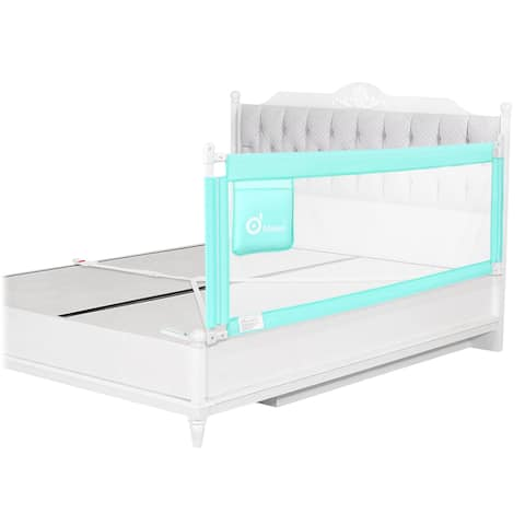 70 inch Green Bed Rail Vertical Lifting for Baby Toddler - S