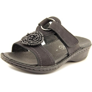 Ara Honey Open Toe Leather Slides Sandal