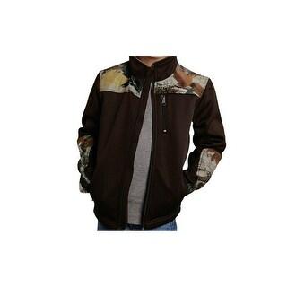 Roper Western Jacket Boys Kids Bonded Fleece Brown 03-397-0692-0512 BR