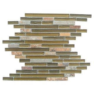 Miseno MT-CONTINENTALLINEARSHBARK Continental - Bark Glass Visual - Wall Tile (S