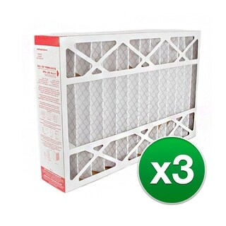 Replacement Pleated Air Filter for for Honeywell 12.5x20x5 MERV 11 (3-Pack)