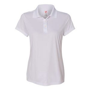cdc05b080 Shop Hanes Cool Dri Women's Sport Shirt - White - S - Free Shipping On  Orders Over $45 - Overstock.com - 15982293