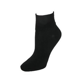 Hanes Women's Plus Size Comfort Collection Cuff Socks (Pack of 5)