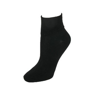 Hanes Women's Turn Cuff Comfort Collection Socks (Pack of 5)