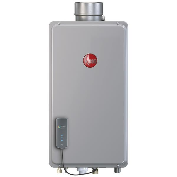 Shop Black Friday Deals On Rheem Non Condensing 9 5gpm Indoor Liquid Propane Tankless Water Heater With Built In Econet 14x10x26 Overstock 30897082
