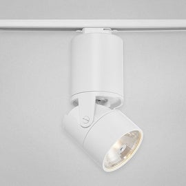 Eurofase Lighting 23347 2 in 1 Convertible Track Head / Ceiling Fixture with Ballast - White