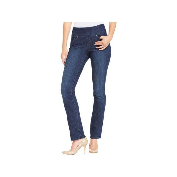 cb0889c363dbd Shop Jag Jeans Womens Peri Straight Leg Jeans Slimming High Rise ...