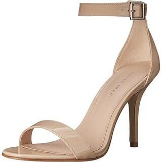 Pelle Moda Womens Kacey Patent Leather Dress Heels
