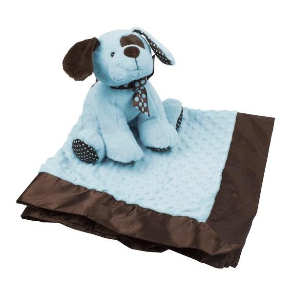 KidKraft Plush Puppy and Blanket Set Blue