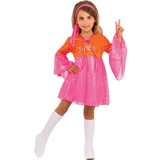Girls Go-Go Girl Halloween Costume