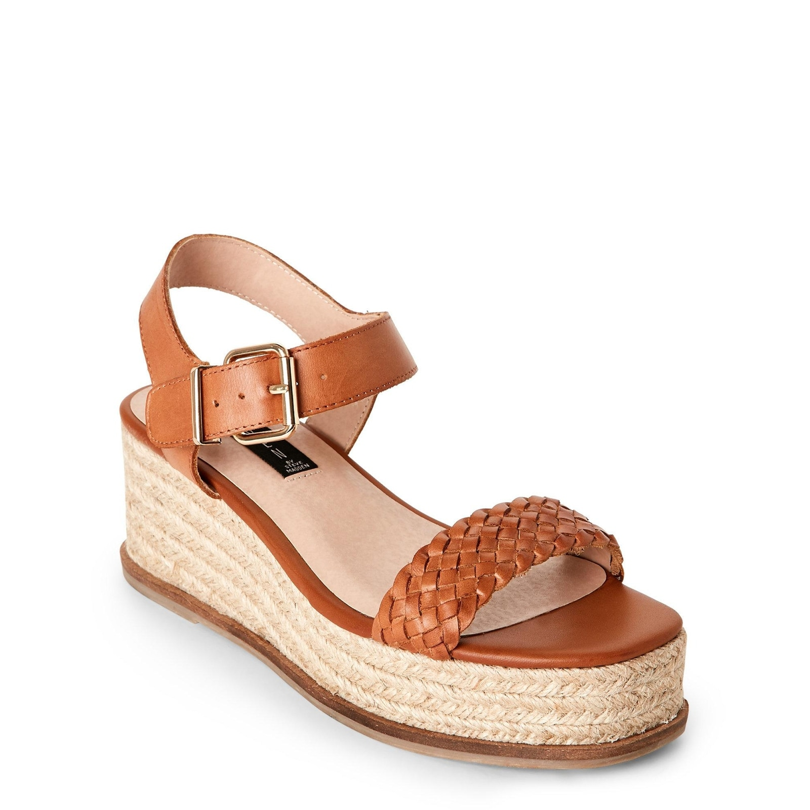 5ead778586e Shop STEVEN by Steve Madden Womens sabble Leather Open Toe Casual Platform  Sandals - On Sale - Free Shipping Today - Overstock.com - 22319500