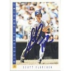 Scott Fletcher Milwaukee Brewers 1993 Score Autographed Card This item comes with a certificate of authenticity from