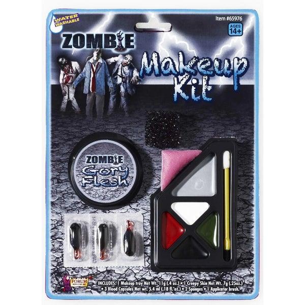 Zombie Costume Make Up Kit - White