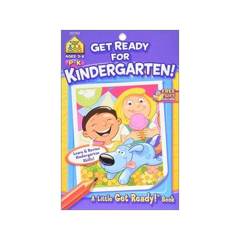 School Zone LGR Get Ready For Kindergarten Bk