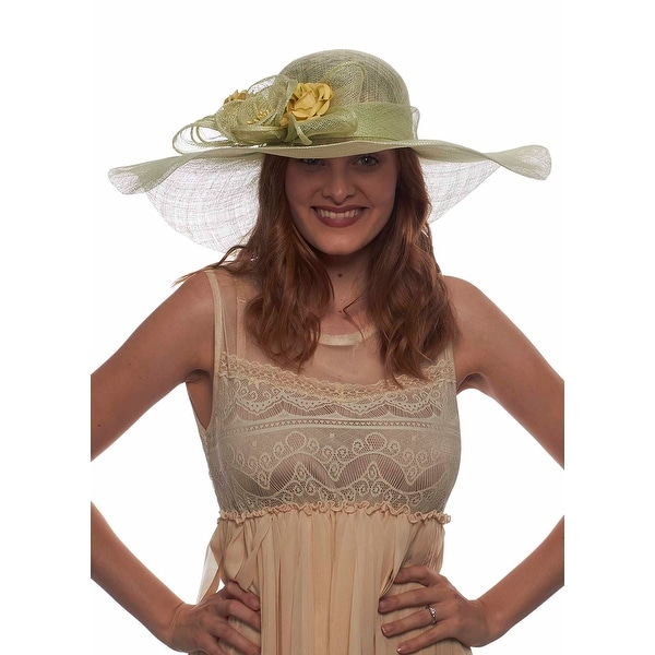 Greatlookz Haydock Park Princess Sinamay Derby Hat