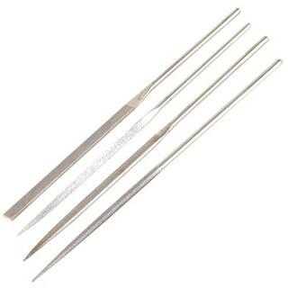 Trend U*DWS/NFPK/F Diamond Needle Files, Fine, 4/Pack