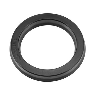 Hydraulic Seal, Piston Shaft USH Oil Sealing O-Ring, 35mm x 45mm x 6mm