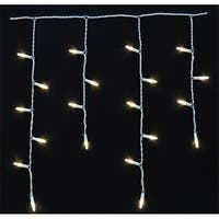Celebrations 4003009S-01AC Platinum 100 Mini White LED Light String