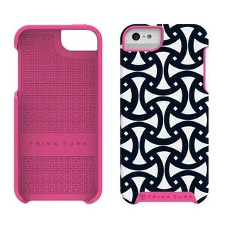 M-Edge Trina Turk Echo Case for Apple iPhone 5/5S (Santorini Navy)