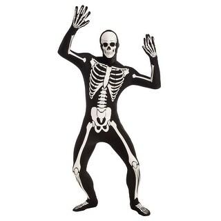 Skeleton Disapearing Man Glow in the Dark Adult Costume