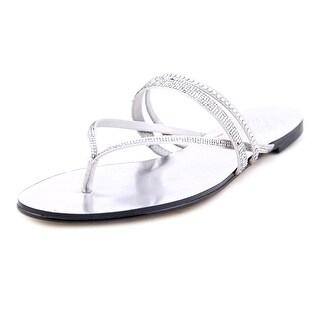 Vince Camuto Evora Open Toe Canvas Thong Sandal