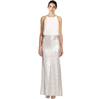 Laundry by Shelli SegalSequin Chiffon Blouson Evening Gown Dress - 6