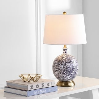"Link to Safavieh Lighting 25-inch Orianna LED Table Lamp - 15""x15""x25"" Similar Items in Table Lamps"