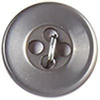 "Charcoal 4-Hole 1/2"" 5/Pkg - Slimline Buttons Series 1"