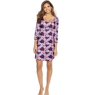 Link to Maidenform Lace Sleepshirt - Color - Multi Floral - Size - XL Similar Items in Intimates