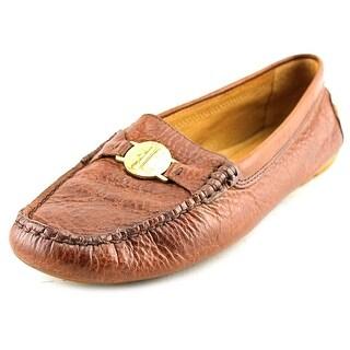 Lauren Ralph Lauren Carley Square Toe Leather Loafer