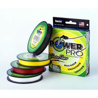 Power Pro 80Lb 1500 Yard Yellow 21100801500Y