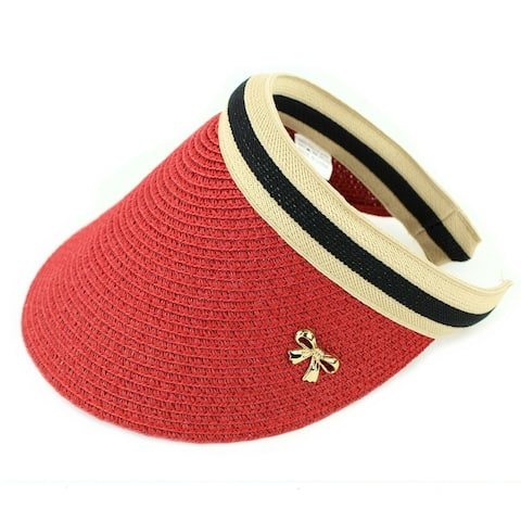 ffcf91e7 Buy Red, Sun Hat Women's Hats Online at Overstock | Our Best Hats Deals