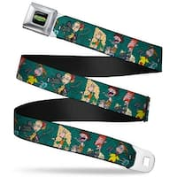 The Wild Thornberry's Logo Full Color The Wild Thornberry's Adventure Pose2 Seatbelt Belt