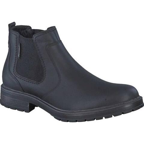 Mephisto Men's Lopez Chelsea Boot Black Nevada Smooth Leather
