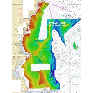 CMOR Mapping Gulf of Maine f/Raymarine CMOR Mapping Gulf of Maine