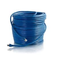 C2G 75ft Cat6 Snagless Solid Shielded Ethernet Network Patch Cable - Blue 75ft Cat6 Snagless Solid Shielded Ethernet Network