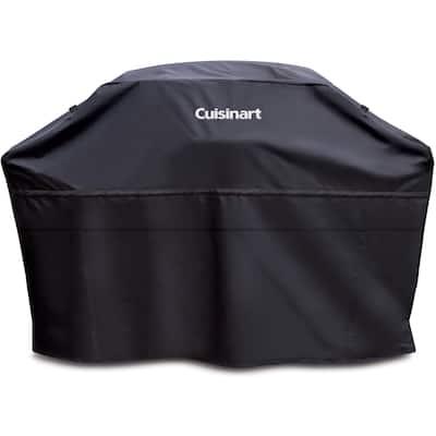 Cuisinart 60-In. Heavy-Duty Rectangular Grill Cover in Black