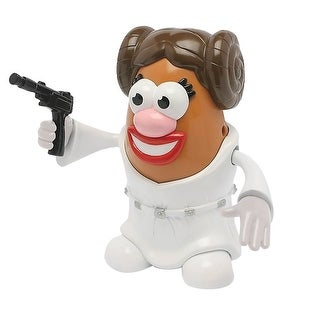 "Mr. Potato Head Star Wars Figure - Leia - 6"" High - MultiColor"