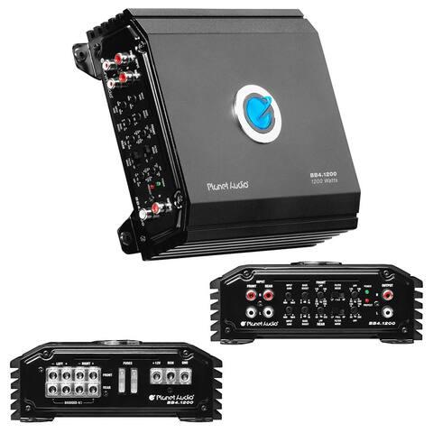 Planet audio bb4.1200 planet audio big bang amplifier 4 channel 1200 watts max class d