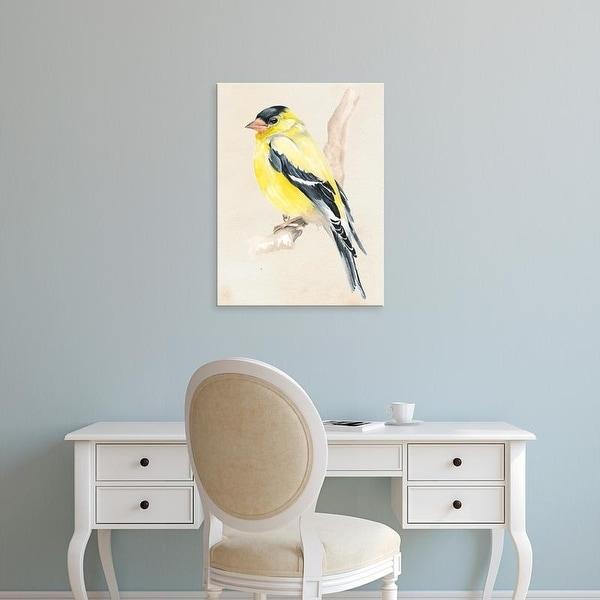 Easy Art Prints Jennifer Paxton Parker's 'Little Bird on Branch III' Premium Canvas Art