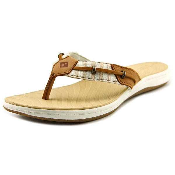 Sperry Top Sider Seabrook Surf Women Open Toe Leather Thong Sandal