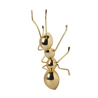 The Golden Ant - Indoor Room or Wall Decor - GOLD