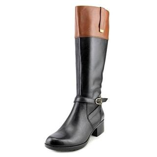 Bandolino Baya Round Toe Leather Knee High Boot