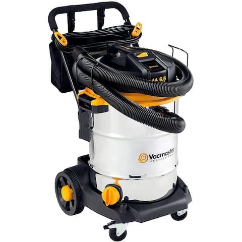 Vacmaster VJE1412SW 0201 Pro 14G 6.5HP SS Wet/Dry Vac