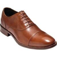 Cole Haan Men's Williams Cap Toe Oxford British Tan Leather