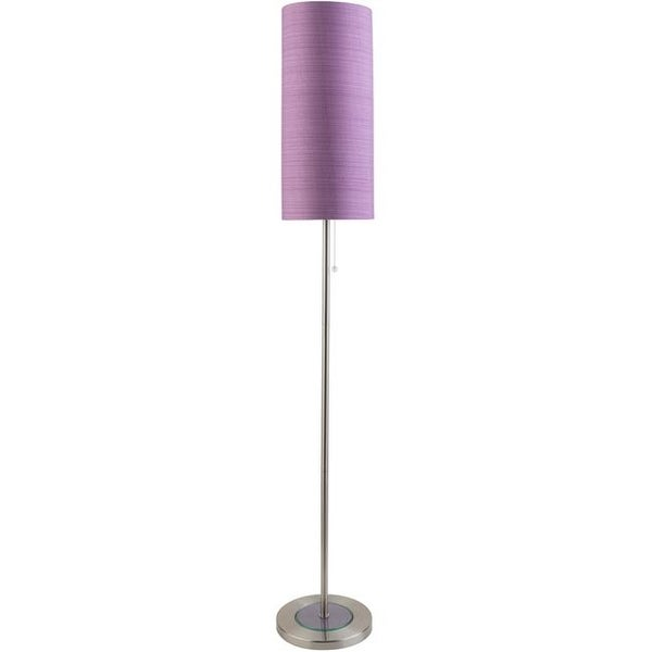 Surya Kyoto Floor Lamp Bright Purple 61 X 9 84 In Free Shipping Today 22035130