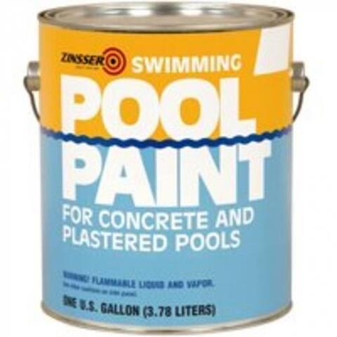 Zinsser 260539/27290 Swimming Pool Paint, Gallon