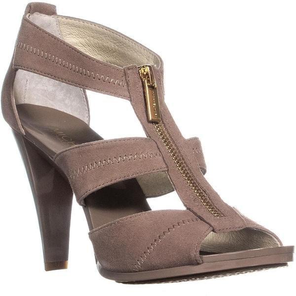 977dedff4 Shop MICHAEL Michael Kors Berkley Floral T-Strap Sandals