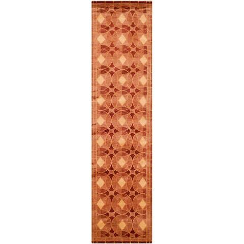 Safavieh Couture Hand-knotted Tibetan Eudocia Modern Wool Rug