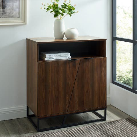 Carbon Loft 29-inch Angled Door Accent Cabinet